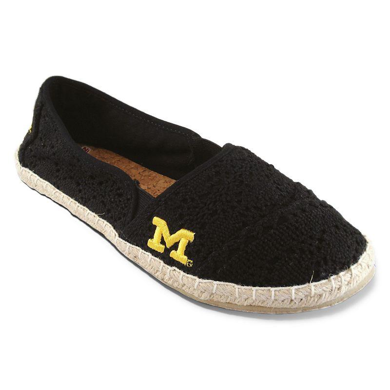 Women's Campus Cruzerz Michigan Wolverines Napili Slip-On Shoes