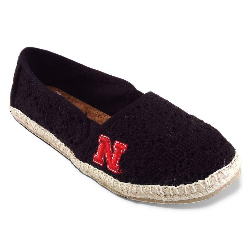 Women's Campus Cruzerz Nebraska Cornhuskers Napili Slip-On Shoes