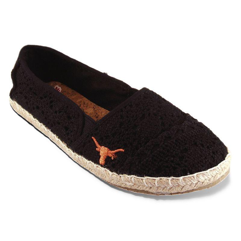Women's Campus Cruzerz Texas Longhorns Napili Slip-On Shoes