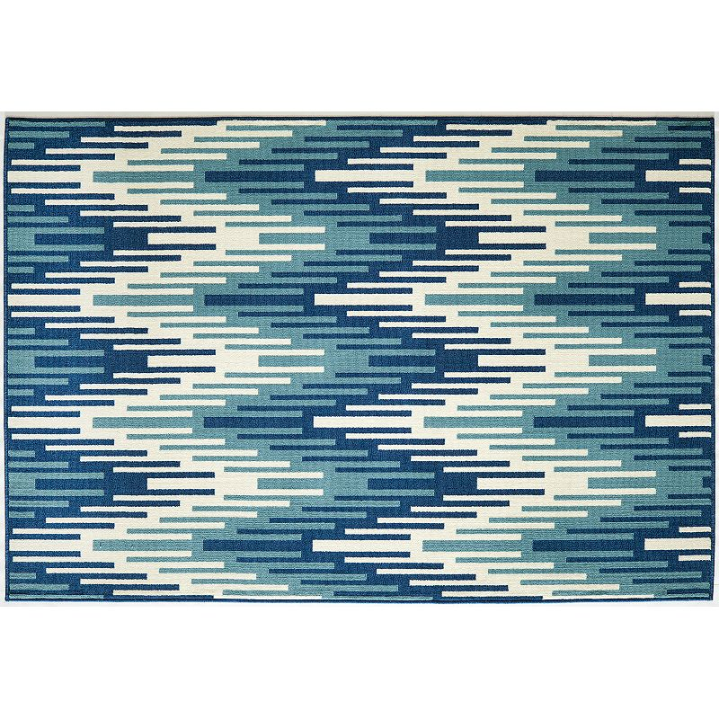 Momeni Baja Wave Indoor Outdoor Rug - 8'6'' x 13'