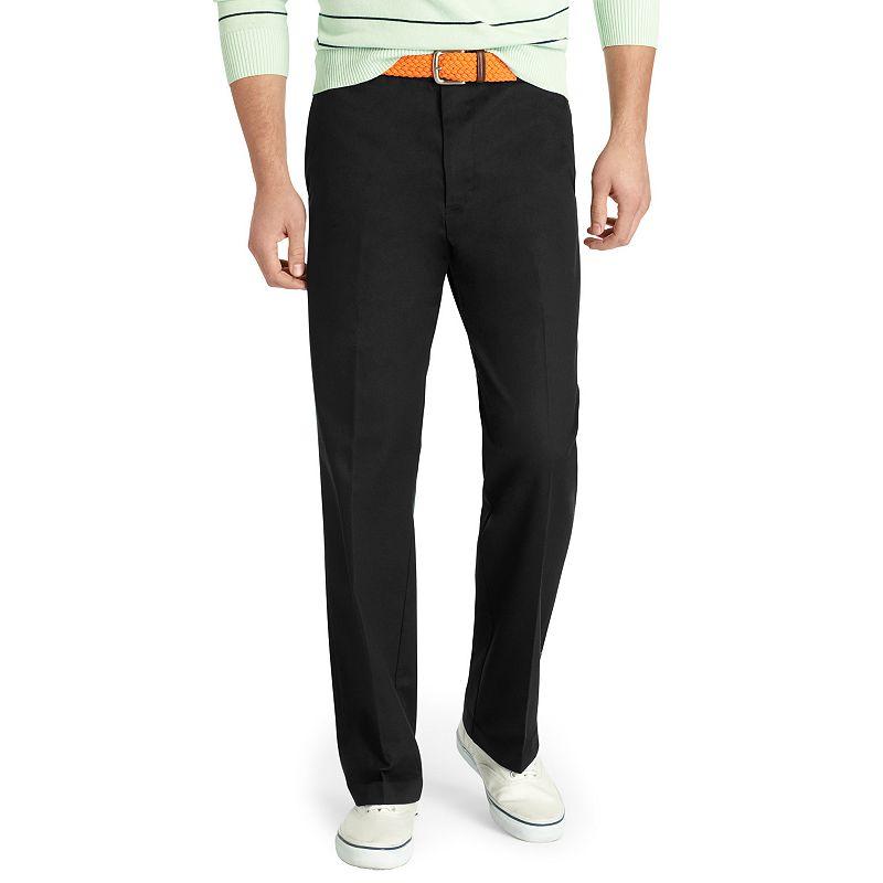 Men's IZOD Madison Straight-Fit No-Iron Comfort Stretch ...