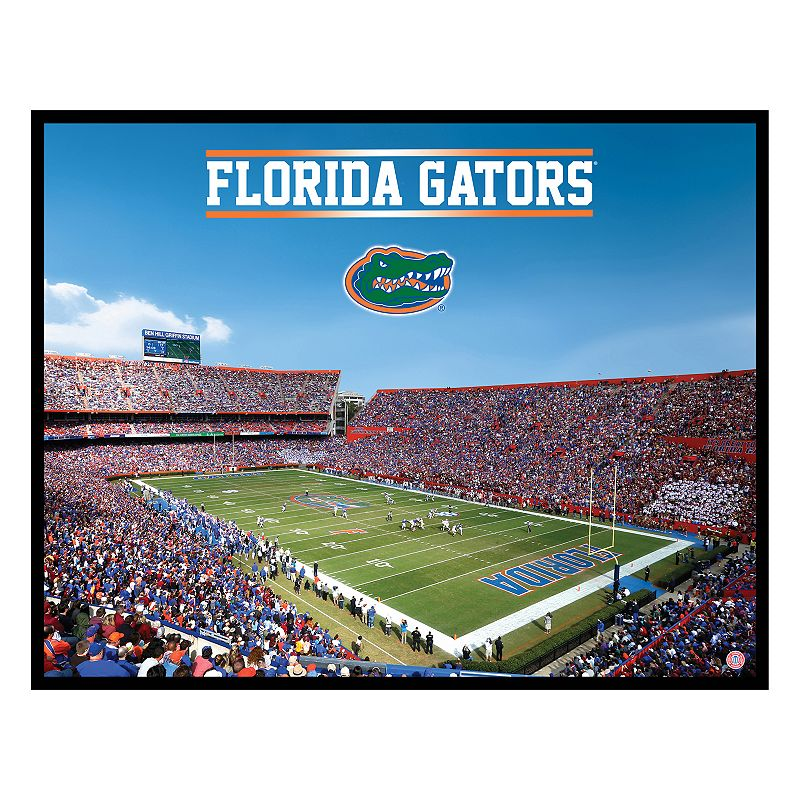 Florida Gators Football Stadium Canvas Wall Art