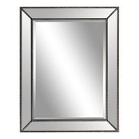 Belle Maison Beaded Wall Mirror