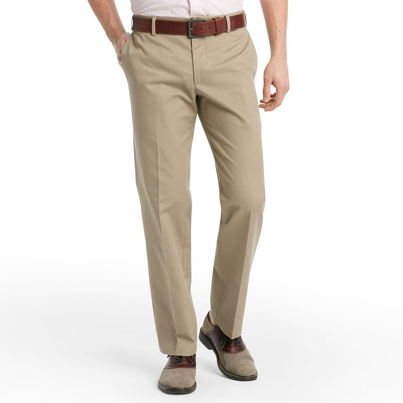 Men's IZOD Madison Slim-Fit No-Iron Comfort Stretch Flat-Front Chino Pants