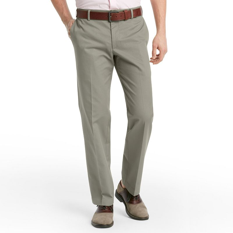 Men's IZOD Madison Slim-Fit No-Iron Comfort Stretch Flat-Front Chino Pants