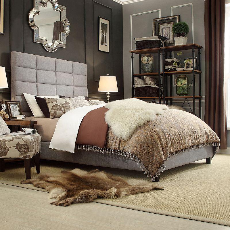 HomeVance Lorin Upholstered Bed - Full