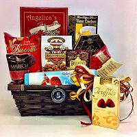 Fifth Avenue Gourmet Chocolate & Cheese Gift Basket