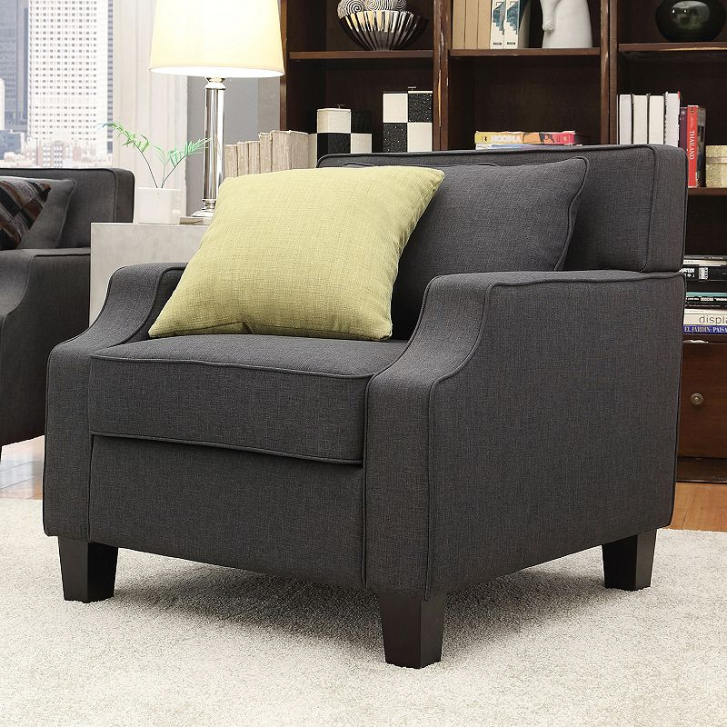 HomeVance Brierwood Arm Chair