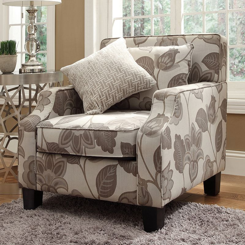HomeVance Brierwood Floral Arm Chair