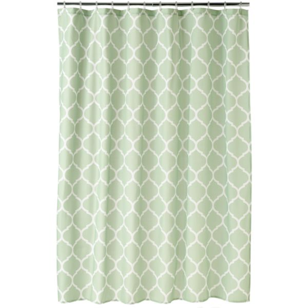 Home Classics® Trellis Fabric Shower Curtain