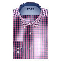 Big & Tall IZOD Performax Wrinkle-Free Button-Down Collar Dress Shirt