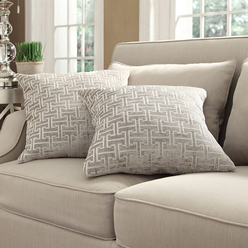 HomeVance Cecilia 2-pc. Decorative Pillow Set