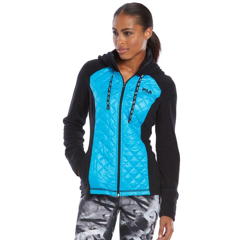 Women S Fila Sport 174 Run Swift Quilted Polar Fleece Workout