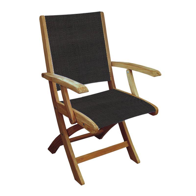 Storage Teak Chair