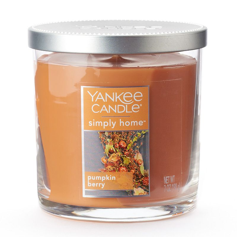 Yankee Candle simply home 7-oz. Pumpkin Berry Jar Candle