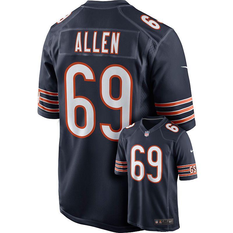 Men's Nike Chicago Bears Jared Allen Game NFL Replica Jersey