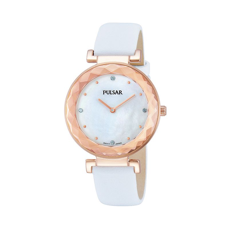 Pulsar Women's Night Out Leather Watch