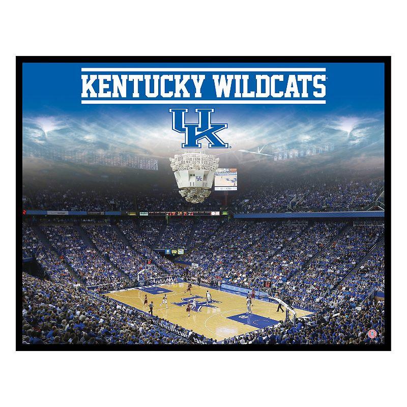 Kentucky Wildcats Arena Canvas Wall Art