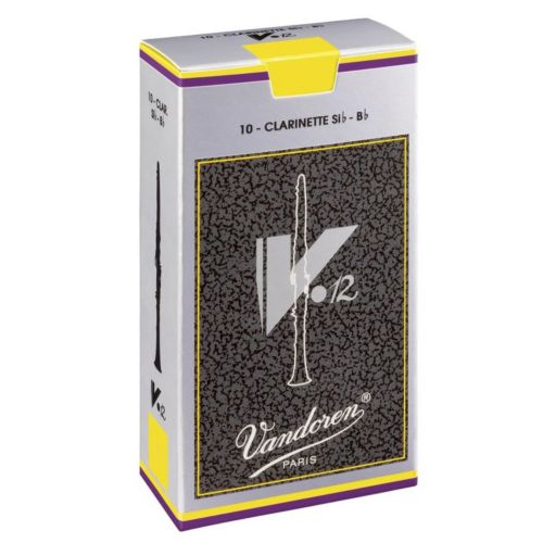Vandoren V-12 10-pk. Bb Clarinet #3 Reeds