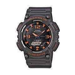 Casio Men's Tough Solar Illuminator Analog & Digital Watch