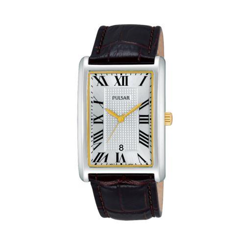 Pulsar Men's Leather Watch - PH9049