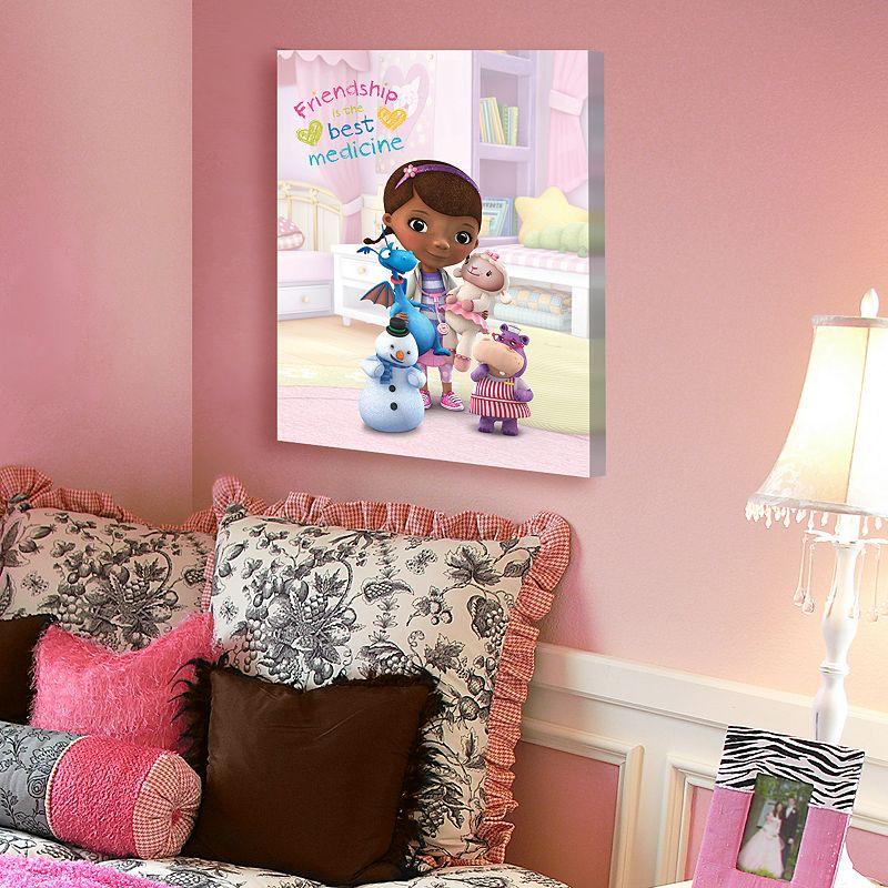Disney Doc McStuffins Friendship 20'' x 16'' Canvas Wall Art