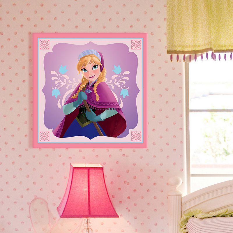 Disney Frozen Anna 18'' x 18'' Canvas Wall Art