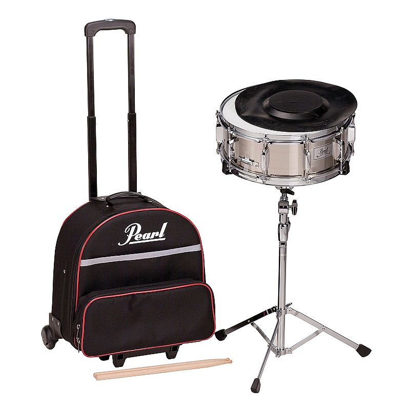 Pearl Educational Snare Drum Kit with Rolling Case