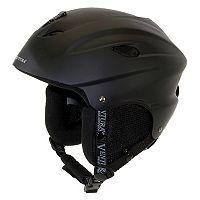 Ventura Black Skiing & Snowboarding Helmet - Adult