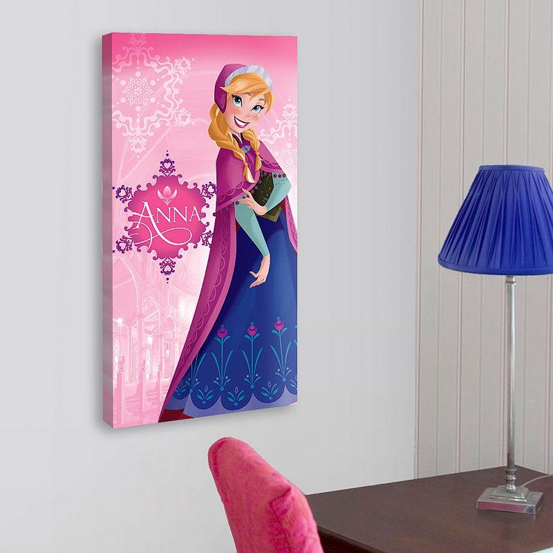 Disney Frozen Anna 28'' x 14'' Canvas Wall Art