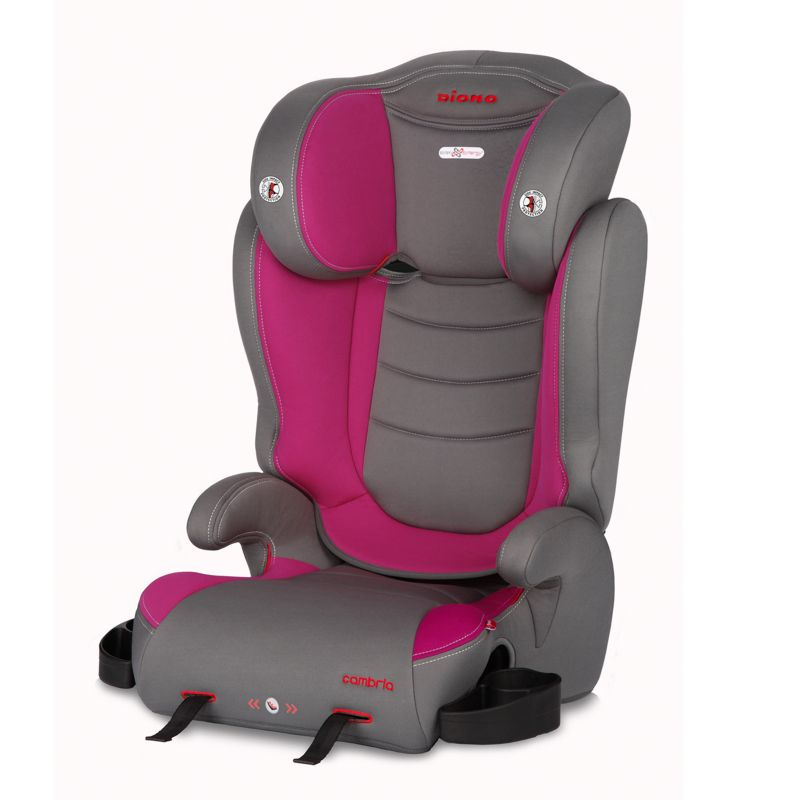 Diono Cambria High Back Booster Car Seat, Red