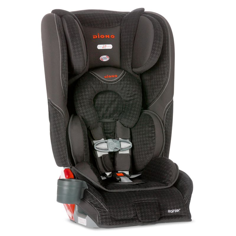 Diono Rainier Convertible and Booster Car Seat, Black