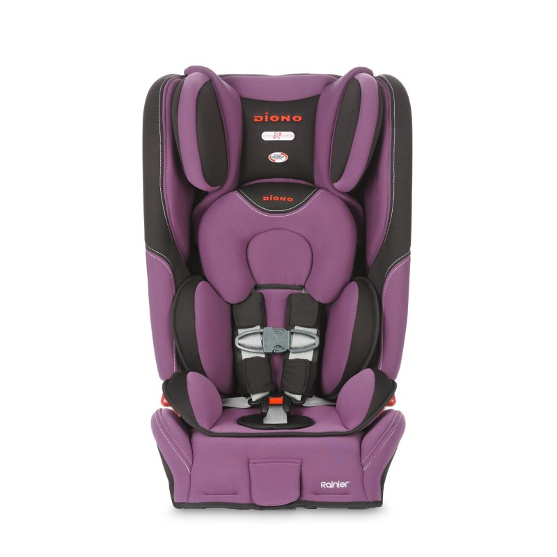 Diono Rainier Convertible and Booster Car Seat, Purple
