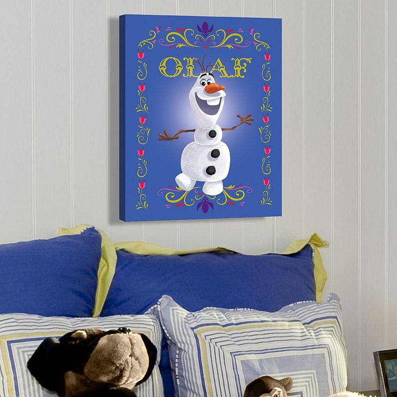 Disney Frozen Olaf Adventure 20'' x 16'' Canvas Wall Art