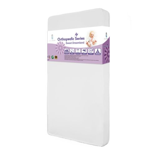 L A Baby Sweet Dreamland Crib Mattress