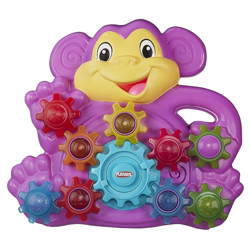Playskool Stack 'n Spin Monkey Gears Toy by Hasbro