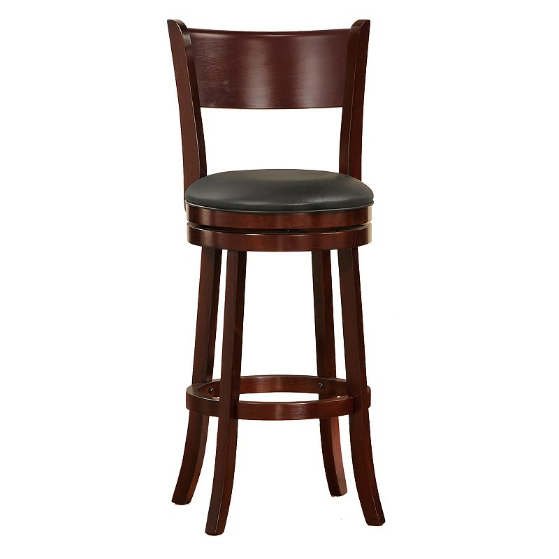 HomeVance Simmons Swivel Bar Stool