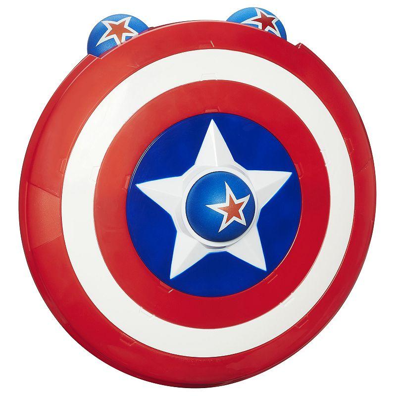 Playskool Heroes Marvel Super Hero Adventures Captain America Shield Launcher by Hasbro