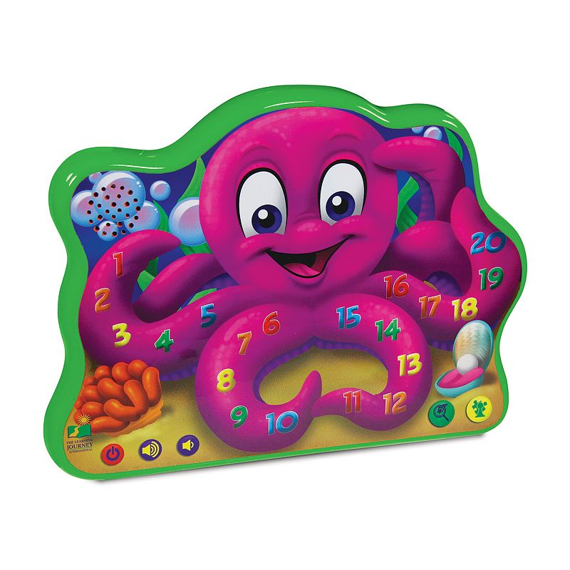 The Learning Journey Count and Learn Octopus