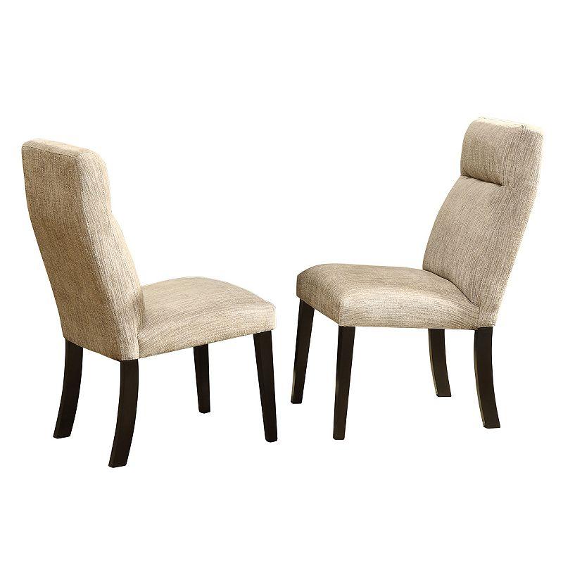 HomeVance 2 Pc Hurst Side Chair Set