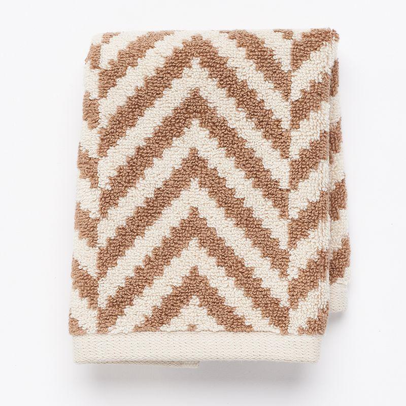 Apt. 9® Plush Herringbone Washcloth