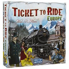 Ticket To Ride Europe Game by