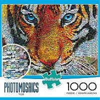 Buffalo Games 1000-pc. Tiger Photomosaics Jigsaw Puzzle