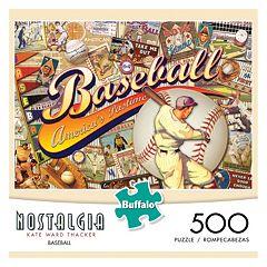 Kate Ward Thacker Nostalgia: Baseball 500-pc. Puzzle