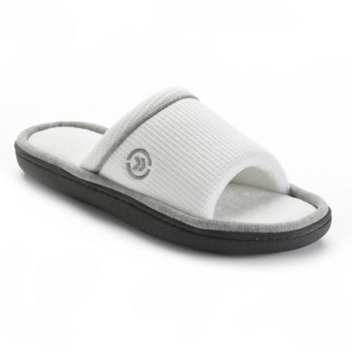 Isotoner Waffle Knit Slide Slippers - Women