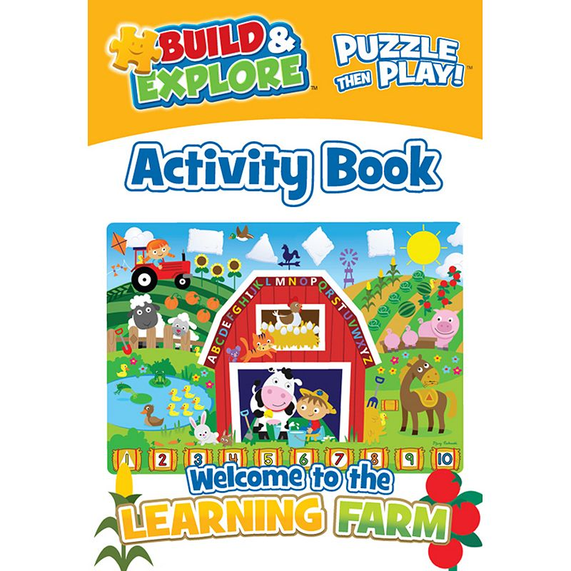 Build and Explore Learning Farm 24-pc. Activity Puzzle