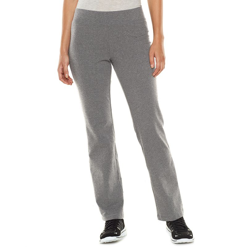 SONOMA Goods for Life™ Slim Straight-Leg Yoga Pants - Women's
