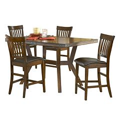 Hillsdale Furniture Arbor Hill 5-pc. Extendable Dining Set by