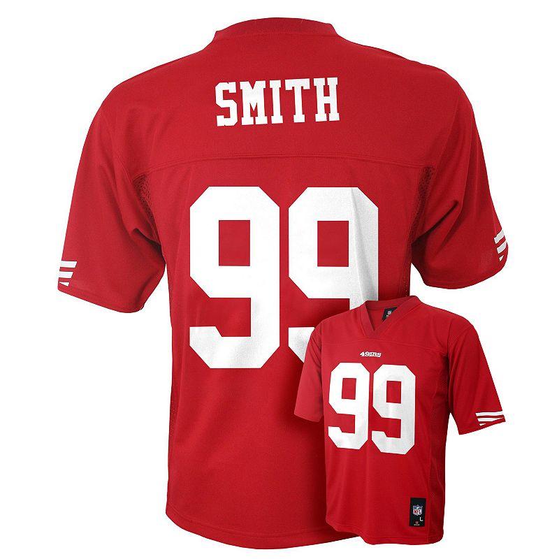 Boys 8-20 San Francisco 49ers Aldon Smith NFL Jersey