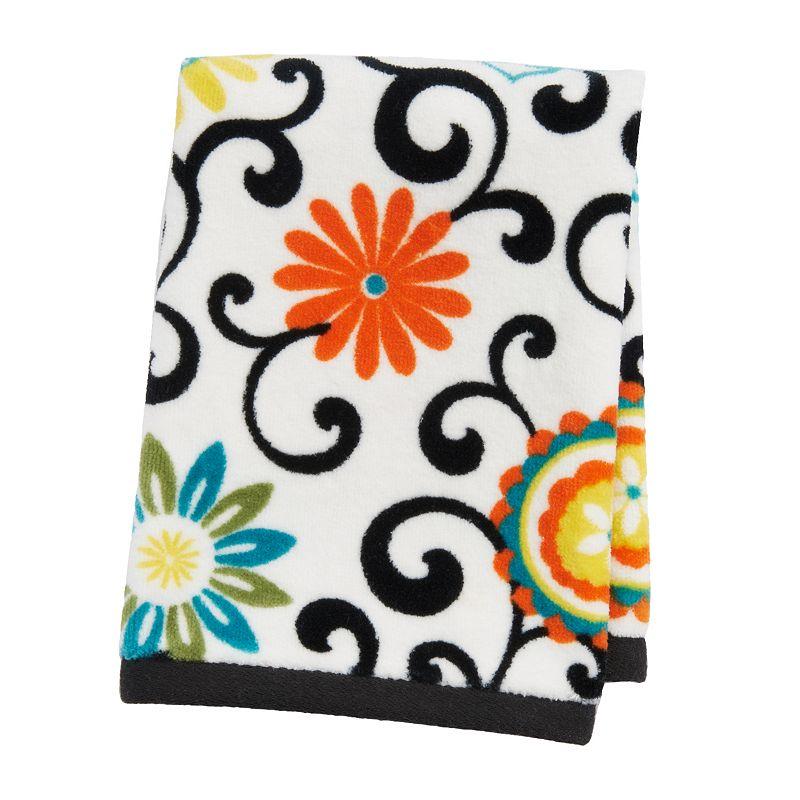 Waverly Pom Pom Fingertip Towel